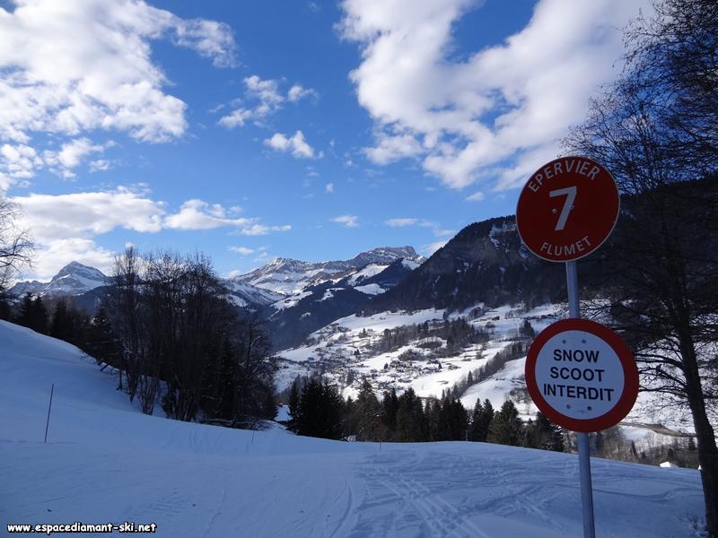 Snowscoots, mais aussi enfants, débutants et personnes de moins de 50kg interdits !