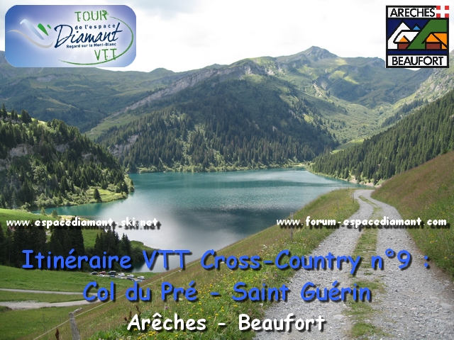 Itinéraire bleu de Cross-Country n°9 : Col du Pré - Saint Guérin