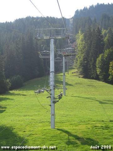 Pylône 9 commun avec celui du TK des Varins