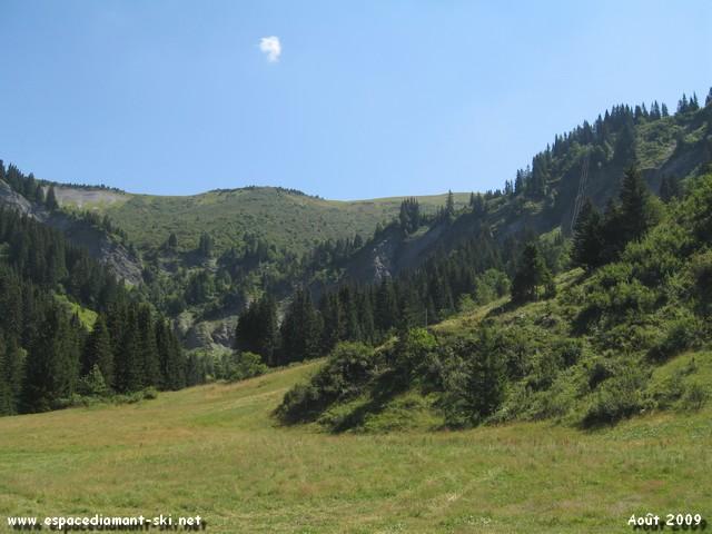 Vue sur le massif du Vorès