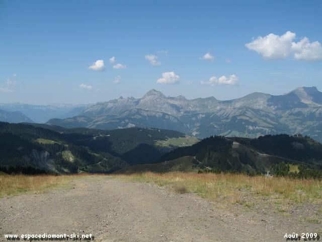 Mont Rond, Mont Lachat et Mont Charvin