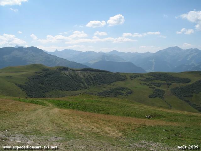 Le Mont Clocher et la Pierra Menta