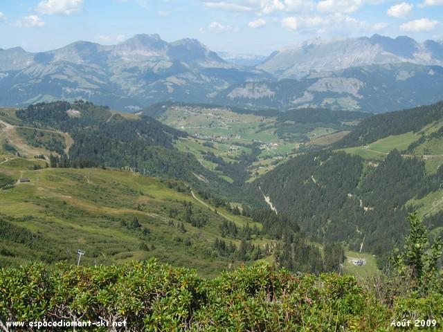 Les montagnes Bellecombaises