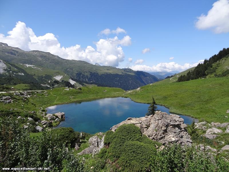 Le lac des Fées...