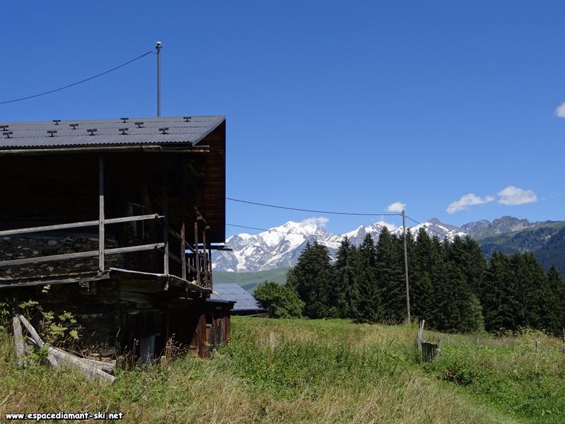 Les vieux chalets d'alpage préservés
