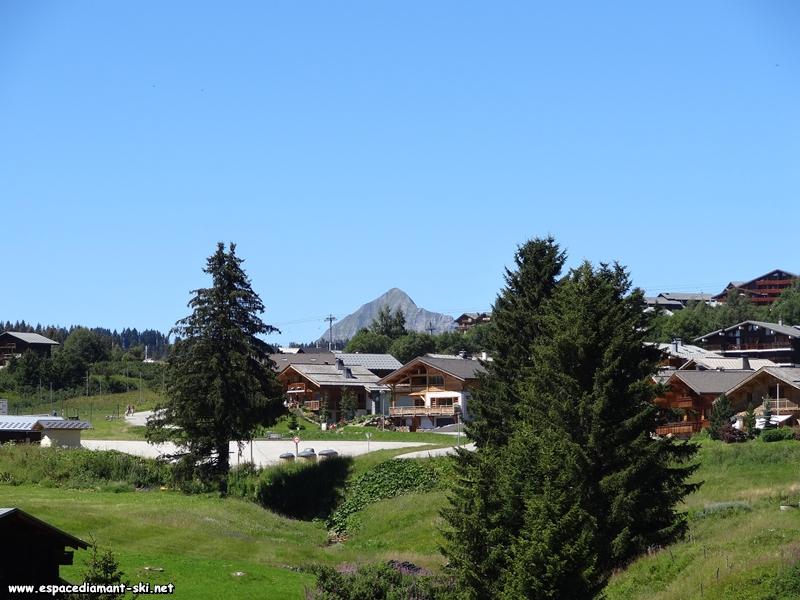 Zoom sur le Mont Charvin