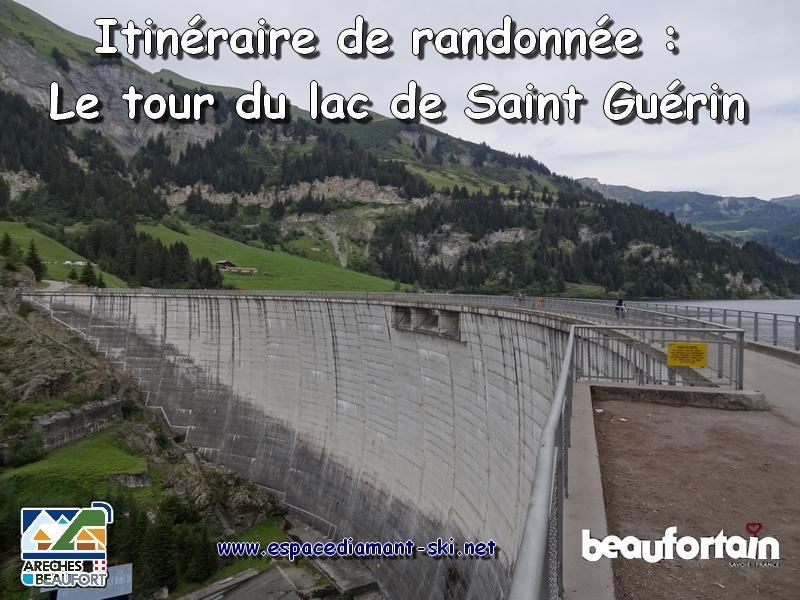 Le tour du lac de Saint Guérin