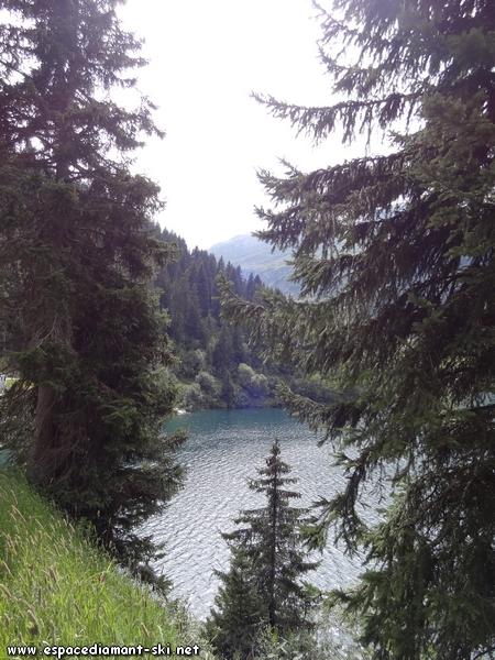 Les eaux du lac
