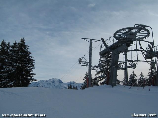 La G2 du Lac et le Mont Blanc