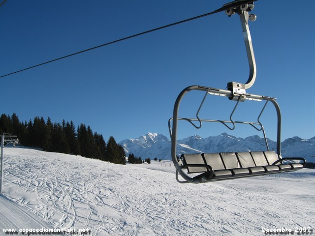 Avec le Mont Blanc