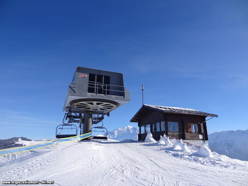 Avec le Mont Blanc en arrière plan