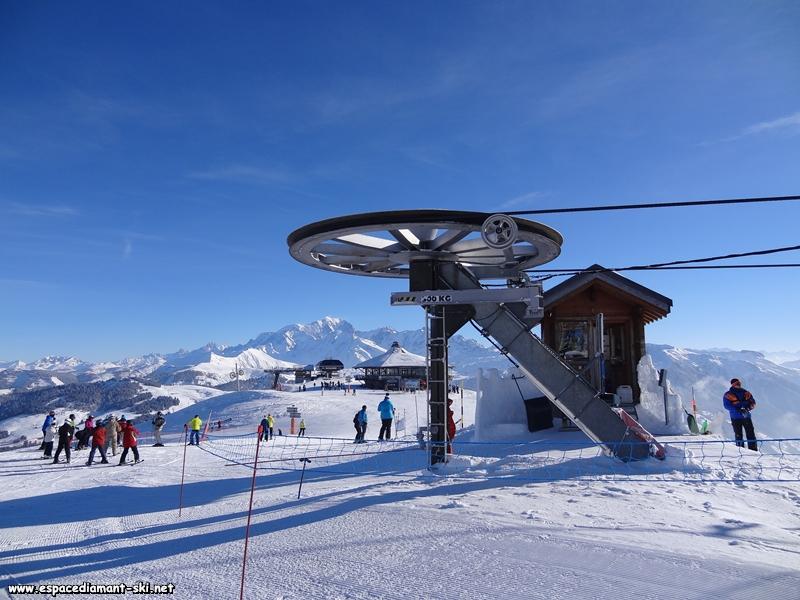 Avec le Mont Blanc en toile de fond