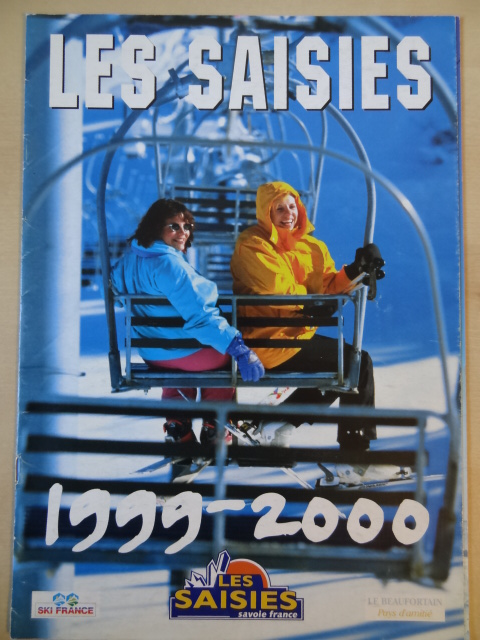 Brochure Les Saisies - Hiver 1999-2000