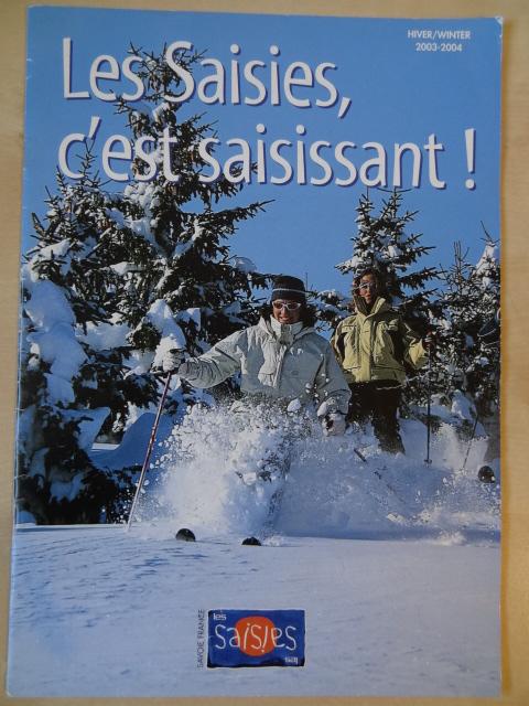 Brochure Les Saisies - Hiver 2003-2004