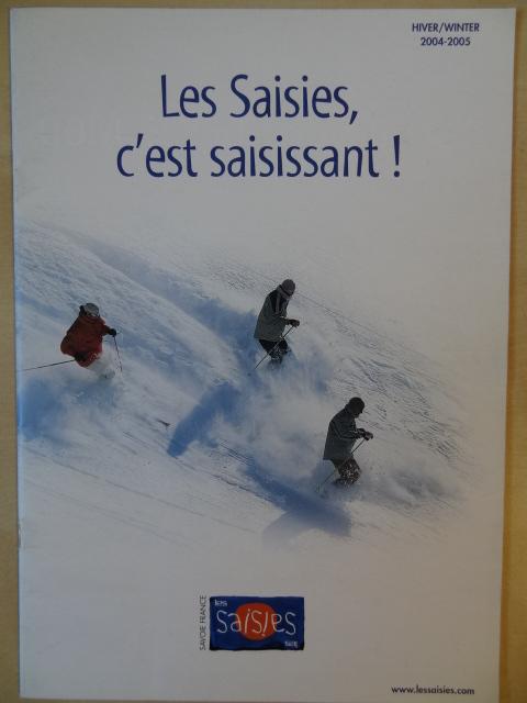 Brochure Les Saisies - Hiver 2004-2005