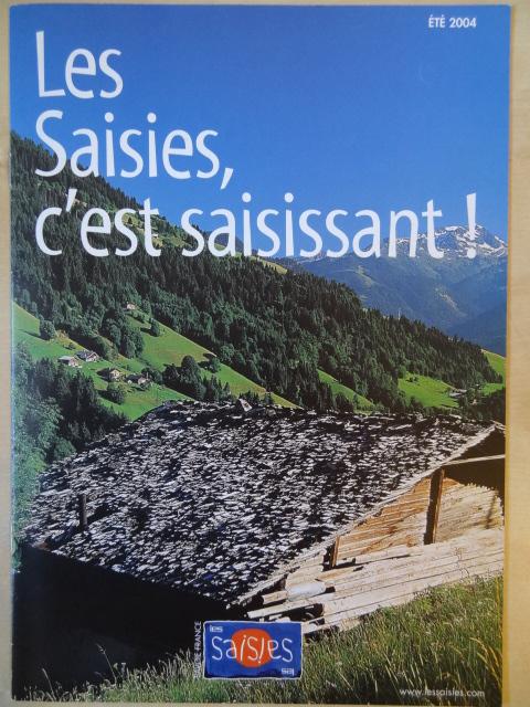 Brochure Les Saisies - Eté 2004
