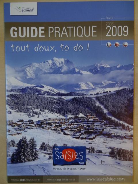 Brochure Les Saisies - Hiver 2008-2009