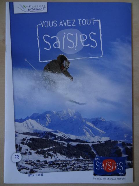 Brochure Les Saisies - Hiver 2009-2010