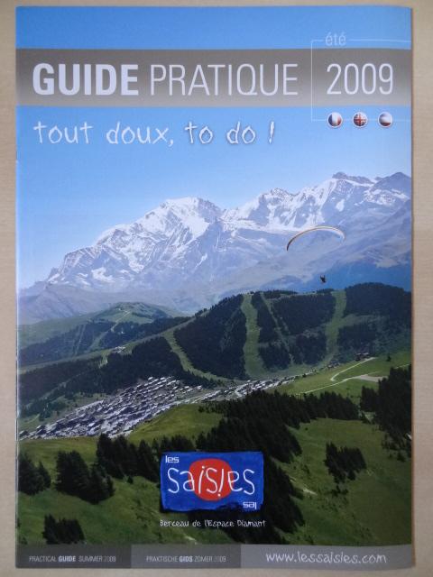 Brochure Les Saisies - Eté 2009