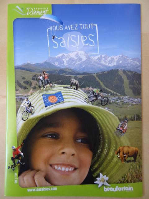Brochure Les Saisies - Eté 2011