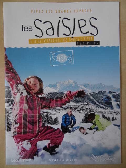 Brochure Les Saisies - Hiver 2014-2015