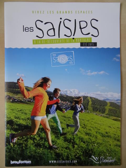 Brochure Les Saisies - Eté 2015