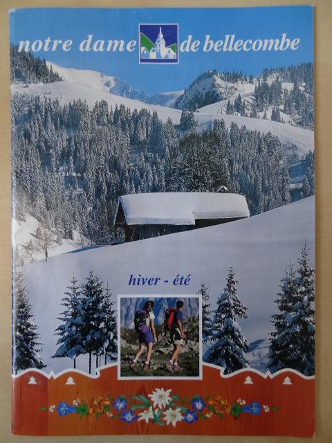 Brochure Notre Dame de Bellecombe - Hiver 1998-1999