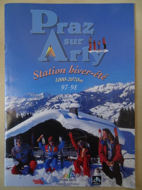 Brochure Praz sur Arly - Hiver 1997-1998