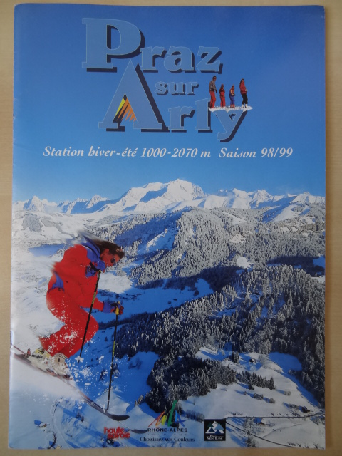 Brochure Praz sur Arly - Hiver 1998-1999