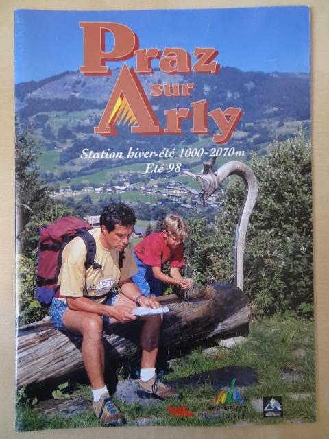 Brochure Praz sur Arly - Eté 1998