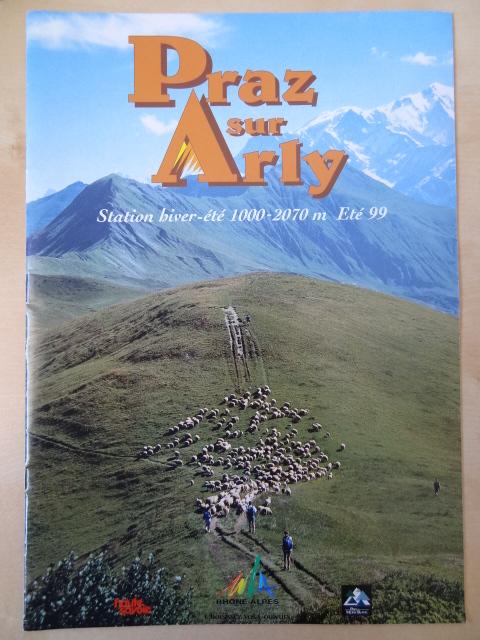 Brochure Praz sur Arly - Eté 1999