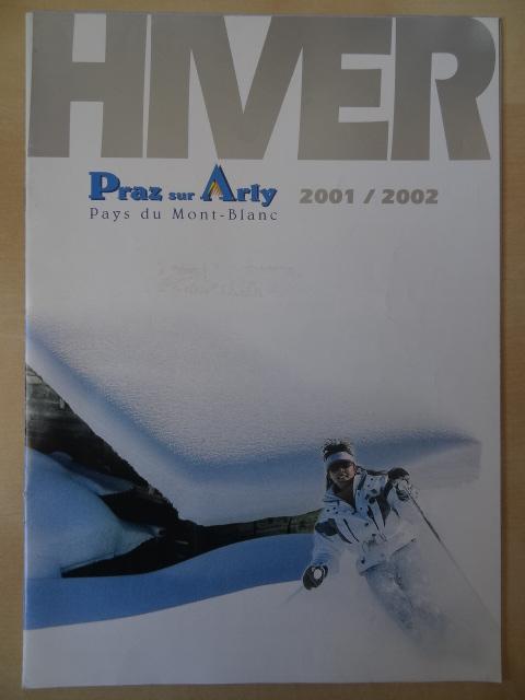 Brochure Praz sur Arly - Hiver 2001-2002