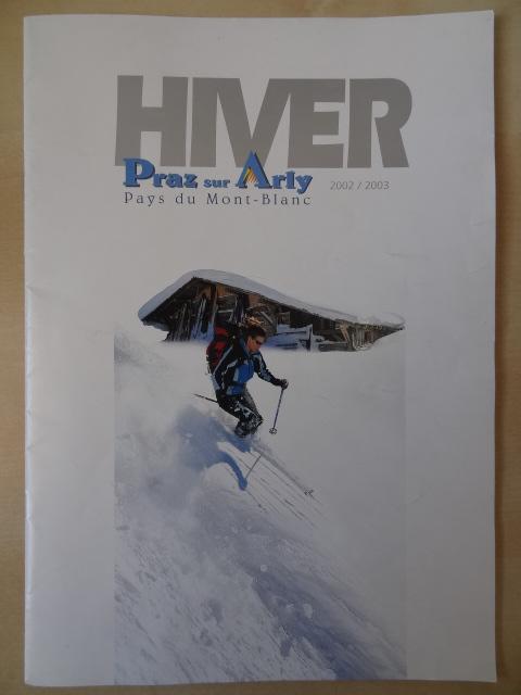 Brochure Praz sur Arly - Hiver 2002-2003