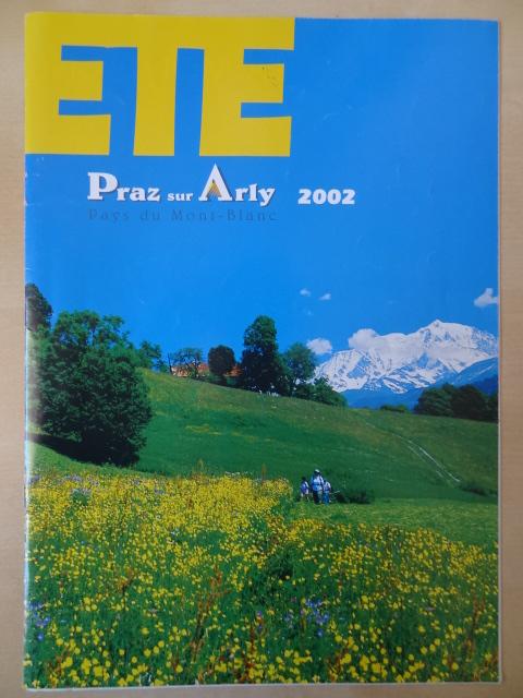 Brochure Praz sur Arly - Eté 2002