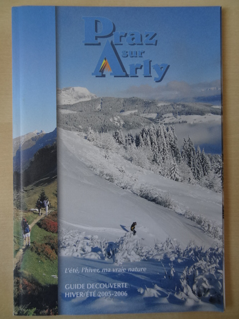 Brochure Praz sur Arly - Hiver 2005-2006