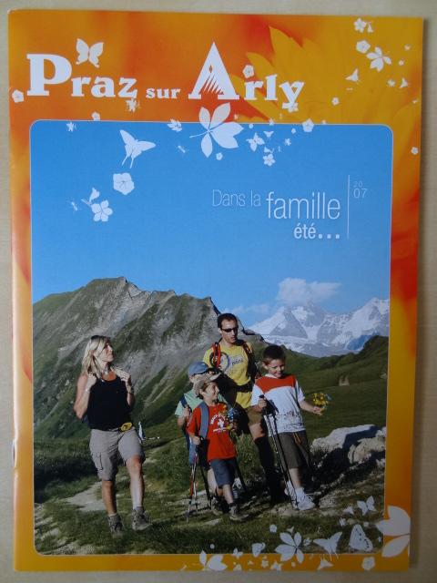 Brochure Praz sur Arly - Eté 2007