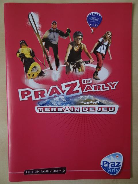 Brochure Praz sur Arly - Hiver 2009-2010