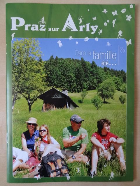 Brochure Praz sur Arly - Eté 2009