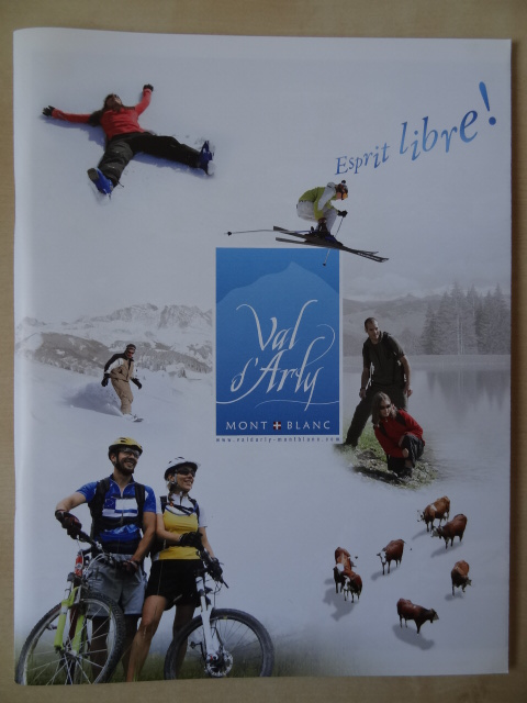 Brochure Val d'Arly - Hiver 2010-2011