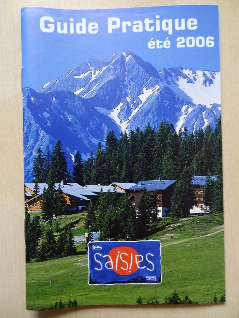 Guide pratique Les Saisies - Eté 2006