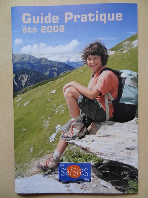 Guide pratique Les Saisies - Eté 2008