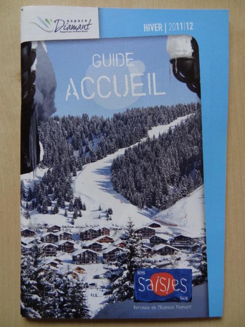 Guide pratique Les Saisies - Hiver 2011-2012