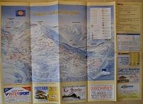 Plan des pistes Les Saisies - Hiver 2002-2003