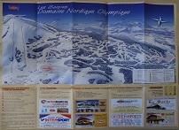Plan des pistes Les Saisies - Hiver 2004-2005