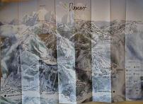 Plan des pistes Les Saisies - Hiver 2005-2006
