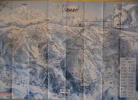 Plan des pistes Les Saisies - Hiver 2006-2007