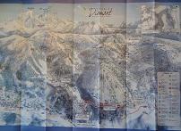 Plan des pistes Les Saisies - Hiver 2009-2010