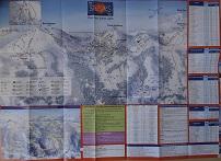 Plan des pistes Les Saisies - Hiver 2011-2012