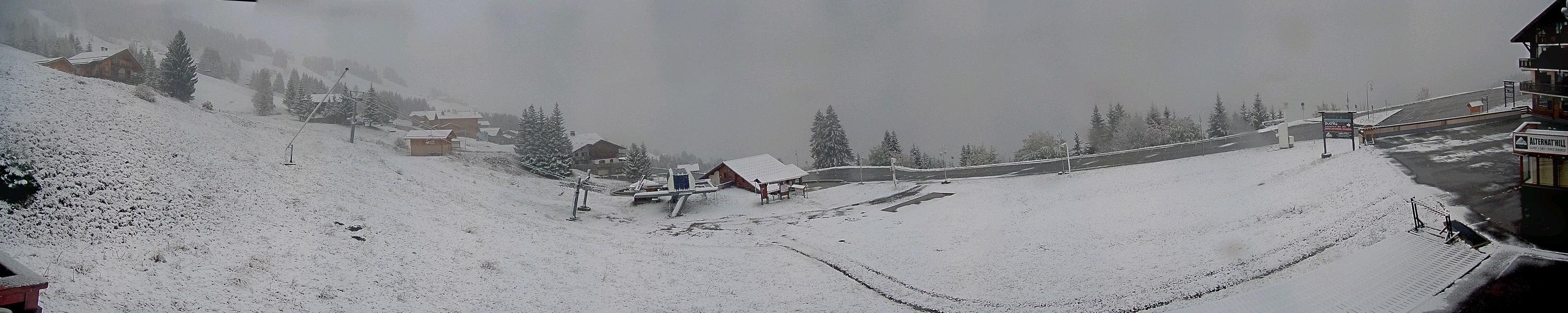 De la neige jusqu'à Bisanne 1500