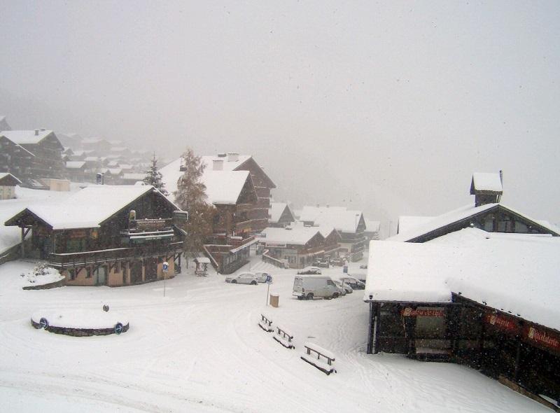 10 cm de neige relevés ce matin aux Saisies...